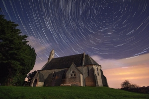 St Marys Church star trails