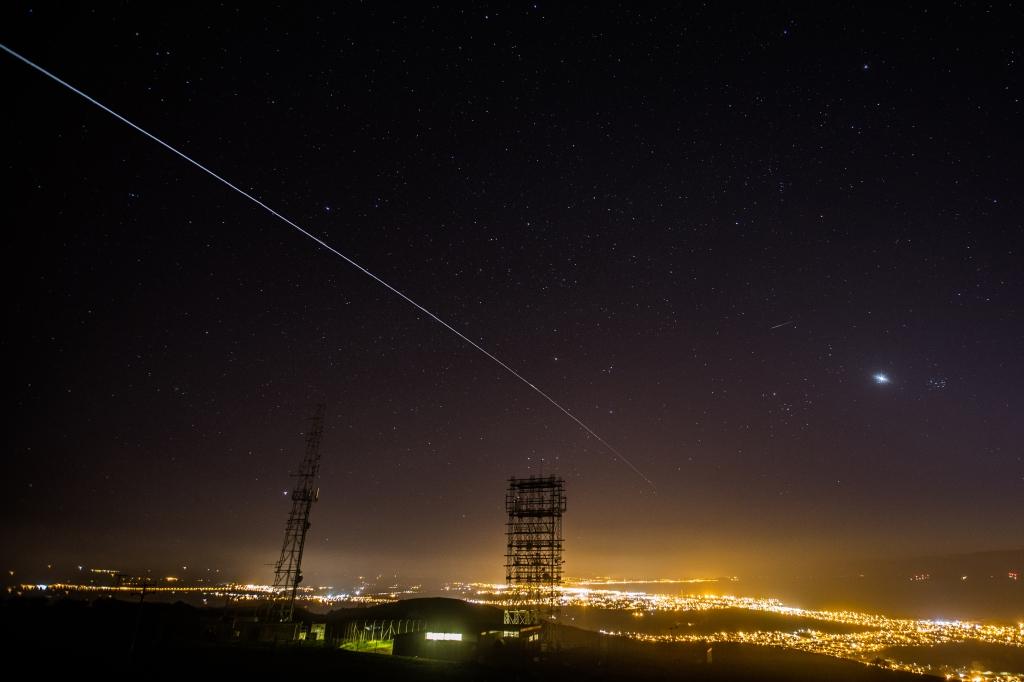 ISS pass